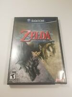 Zelda Twilight Princess (GameCube 2006) No Manual Tested Working Pre-owned