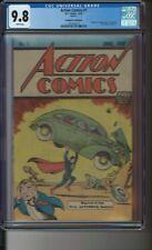 ACTION COMICS #1 Safeguard 1976 Reprint Edition CGC 9.8