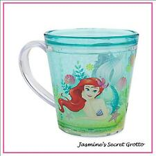 AUTHENTIC DISNEY THE LITTLE MERMAID ARIEL FLOUNDER MEAL TIME CUP BPA FREE NEW