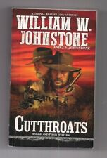 western paperback Book Cutthroats by William W. Johnstone