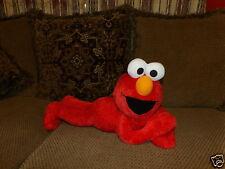 """20"""" Fisher Price Sesame Street Laying Plush Elmo"""