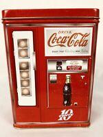 RARE VINTAGE COCA-COLA 10 cents TIN BOX