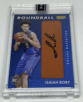 ISAIAH ROBY 2019-20 Panini Instant Roundball Rookie RC Autograph Auto #3/10