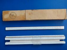 Wooden Russian  Slide Rule 25 cm   SCHLIESS VORSCHRIFTEN VINTAGE