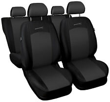 Car seat covers fit Honda Civic - full set grey / black sport style