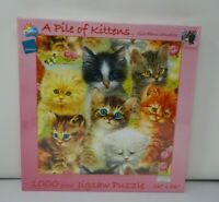 Giordano Studios Jigsaw Puzzle A Pile of Kittens 1000 Pieces New Sealed Cats