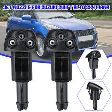 Windscreen Washer Wiper Water Spray Jet Nozzle Push For Suzuki Swift Alto SX4