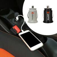 1pc 2 Port Dual Twin USB In Car charger cigarette lighter adapter Accessories