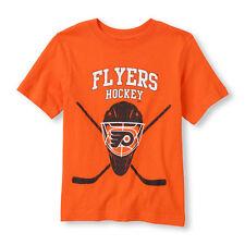 Toddler Kids NHL Short Sleeve 'Flyers Hockey' Logo Graphic Tee XS(4)