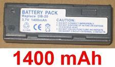 Batería 1400mAh tipo DB-20 KLIC-3000 NP-80 Para FujiFilm FinePix 6900