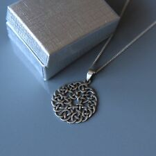 Lepos, Sterling silver Celtic Pendant Necklace