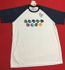 Rio 2016 olympics t-shirt Brazil New With Tags