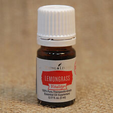 Young Living LEMONGRASS VITALITY 5 mL Essential Oil NEW Unopen SHIPS in 24 hrs