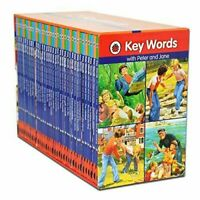 NEW Ladybird Key Words Early Reading 36 Books Library Children's Book Collection