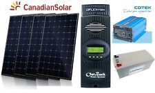1220W Solar Panel Kit Outback charge controller inverter battery panneau solaire