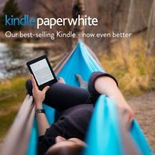 """Kindle Paperwhite E-reader, 6"""" with Built-in back Light, Wi-Fi (Black) 7th gen"""