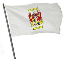 3′ x 2′ Flag with your Coat of Arms – ideal for the caravan enthusiast!