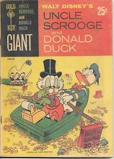 Walt Disney's Uncle Scrooge and Donald Duck Comic Book Gold Key 1965 FINE+
