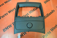BMW 1 SERIES F21 CENTRE CONSOLE REAR COVER TRIM & CIGARETTE LIGHTER 9227886