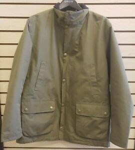 Barbour Lorton Waterproof Polyamide Lined Rain Jacket Olive - Men's XL