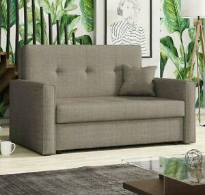 Sofa Kvarnsand BIS II Bettkasten Schlaffunktion Couch Ausklappbar Zweisitzer NEU