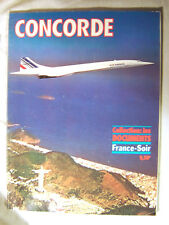 """document - revue - """"Concorde"""" de France Soir 1976 Avion"""