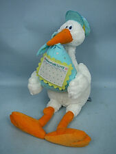 "23"" Bundle O'Joy Delivery Stork by First Main With Blank Postcard"