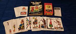 VINTAGE TAROT CARDS SET WADDINGTONS 1970 COMPLETE 78 CARDS  + FREE BOOK GARDNER