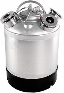 Reinigungsbehälter, Bierleitung, Reinigen, Edelstahl,
