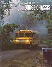 1969 Dodge School Bus Chassis Dealer Sales Brochure S500 S600