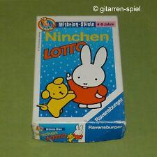 Dick Bruna - Ninchen Lotto komplett Miffy Bilderlotto Ravensburger ©1995 Rar Top