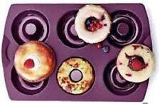 TUPPERWARE Tupperware Donut Silikonform Backform Bagel Küchlein Backen Silikon