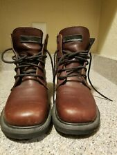 Dr Martens Brown Leather Ankle Boots Women Size 4  AW004