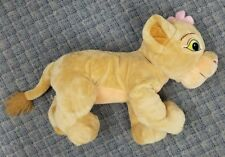 Disney The Lion King Nala Plush Doll Toy 21 in. Soft Pre-owned EUC Steam Cleaned