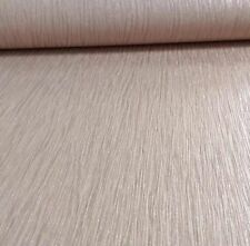 Debona Taupe Crystal Plain Pattern Textured Stripe Glitter Vinyl Wallpaper 9007