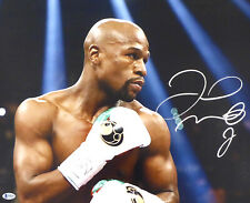 FLOYD MAYWEATHER JR. AUTHENTIC AUTOGRAPHED SIGNED 16X20 PHOTO BECKETT BAS 159714
