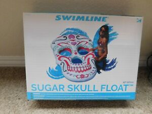 New Swimline Sugar Skull pool float