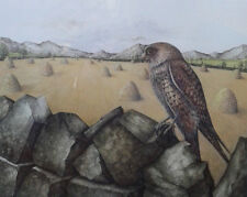 Denise Wheeler. Framed limited edition 5/600 print of a Falcon '91