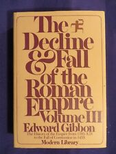 Vintage DECLINE AND FALL OF THE ROMAN EMPIRE Vol 3 1185 AD-1453 AD EDWARD GIBBON