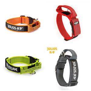 Hundehalsband, Julius K9® Halsband mit Griff, verschiedene Varianten & Farben