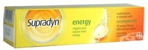 SUPRADYN Energy 15 Effervescent Tablets Multivitamins with Co-enzyme Q10
