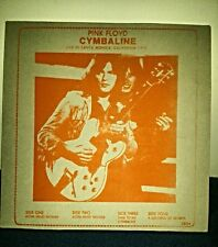 "PINK FLOYD ""CYMBALINE"" LIVE IN SANTA MONICA CALIFORNIA 1970 COPY 03/100"