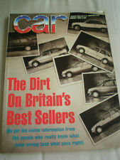 Car Aug 1988 405 mi16 vs BX GTi 16v vs 21 2L Turbo vs Bluebird Executive
