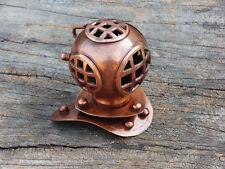 Copper & Brass Mini Divers Diving Helmet Antique Deep sea Scuba Diving Equipment