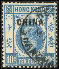 Scott # 22 - 1917 -   King George V ', Ovptd. CHINA