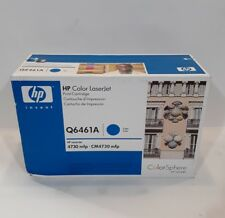 GENUINE 644A HP Q6461A Cyan Toner Cartridge LaserJet 4730 CM4730 MFP NEW OEM PV