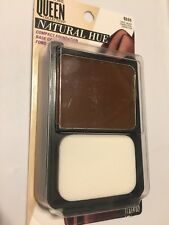New CoverGirl Queen Collection Q555 Natural Hue Compact Foundation -True Ebony