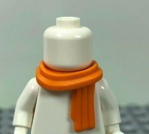 LEGO Orange Minifigure Scarf Long Wrapped (x1) 25376 Minifig Body Wear