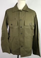 WWII US DARK SHADE TYPE II HBT COMBAT FIELD JACKET-XLARGE