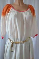 CHRISTOPHE SAUVAT Cotton Tunic Beach Dress Size S